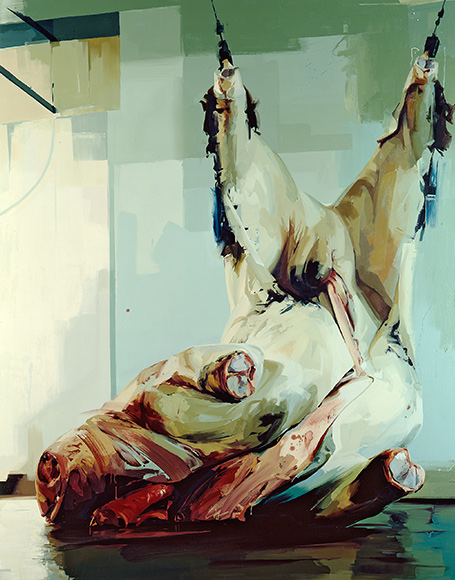 JENNY SAVILLE Torso II Oil on canvas